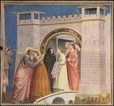 """Qui a peint """"la rencontre de Joachim et d'Anne à la porte dorée"""" ?"""