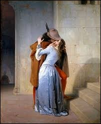 "Qui a peint ""Le Baiser"" en 1859 ?"