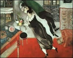 En 1915, Marc Chagall a peint...