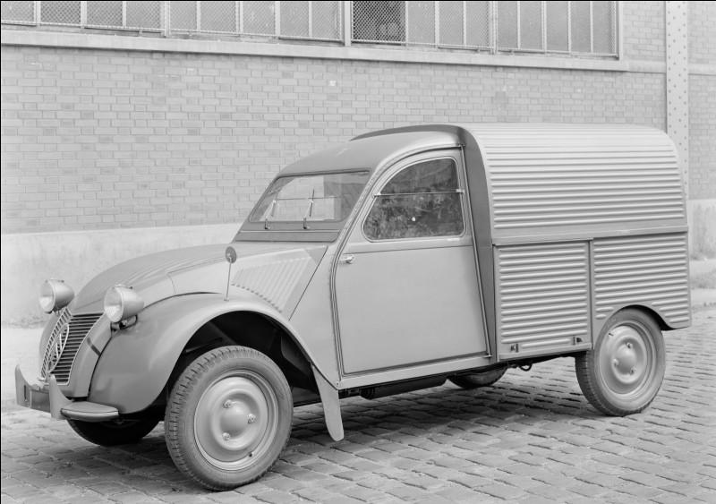 Quel est le nom de cette Citroën ?