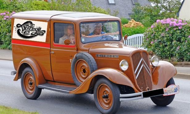 Les camionnettes vintage
