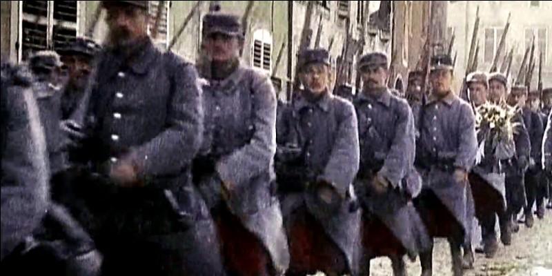 À quelle date a commencé la Première Guerre mondiale ?