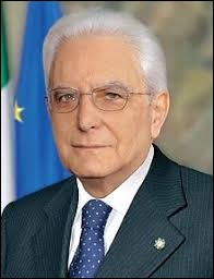 """Sergio Mattarella"" est mon président."