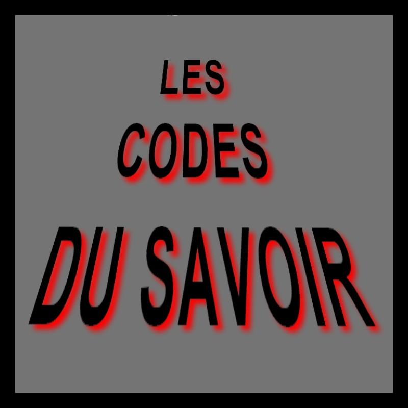 Les codes du savoir