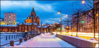 "Ma capitale est ""Helsinki""."