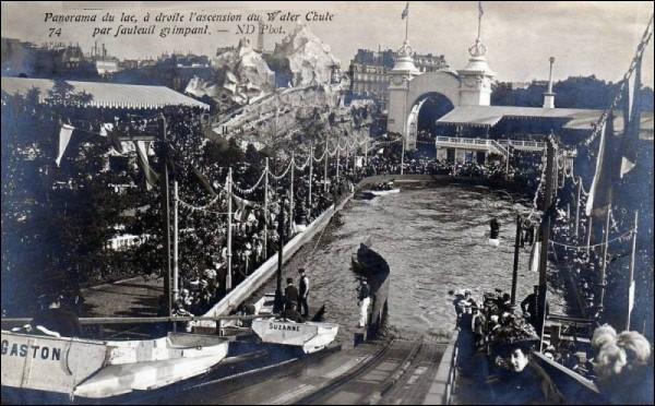 De 1909 à la crise des années 30, un parc d'attraction se trouvait au carrefour des Sablons (Porte Maillot). Comment s'appellait-il ?