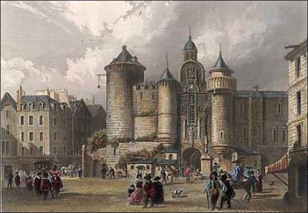 """La Forteresse du Grand Châtelet (édifiée par Louis """"vé-bâton"""" dit le Gros) fut démolie après un événement particulièrement dramatique. Lequel ?"""