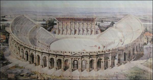 Ils ne reste des Arènes de Lutèce (1er s.) que quelques ruines, près de la rue Monge (Ve arr.). Mis à part quelques footeux, qui sont aujourd'hui ses gladiateurs, armés de métal ?