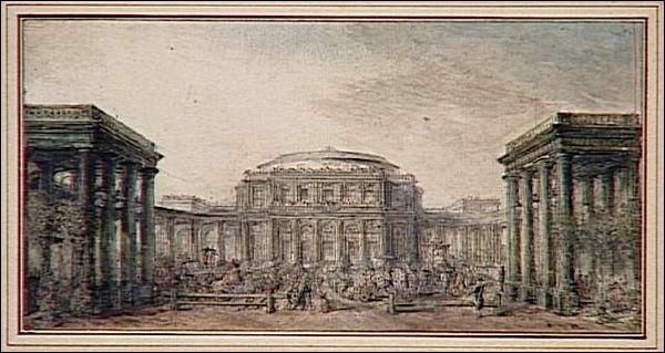 Un Colisée aux Élysées ! Achevé en 1771, c'était une sorte du Puy du Fou avant l'heure, en haut des Champs... Que pouvaient y faire les 40 000 visiteurs potentiels ?