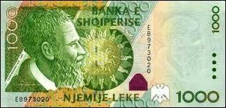 "Ma monnaie est le ""lek""."