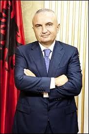 "Mon président est ""Ilir Meta""."