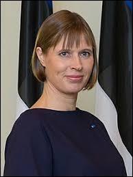 """Ma présidente est """"Kersti Kaljulaid""""."""