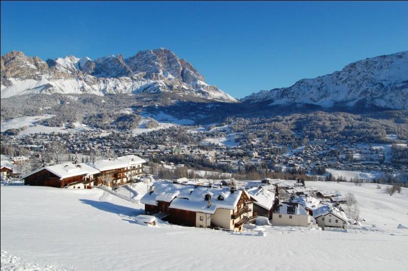 Voici la très belle station italienne de Cortina, dans quelle région ?