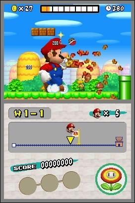 Quel mot a été rajouté dans le Super Mario Bros sur DS ?