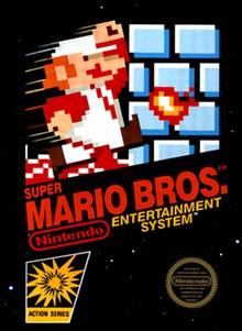 En quelle année a été créé le tout premier jeu de Mario Bros ?