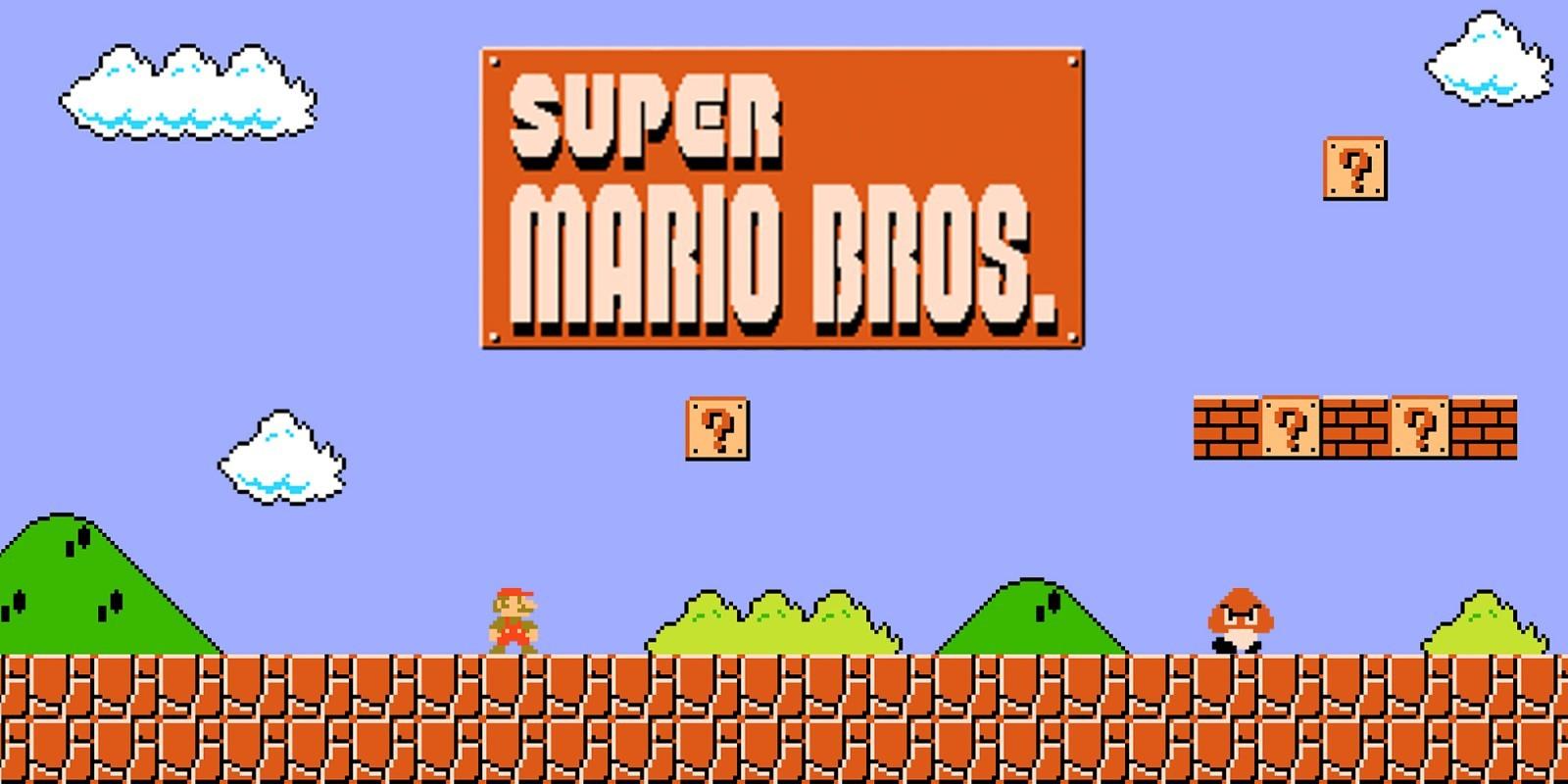 Les jeux de Super Mario Bros