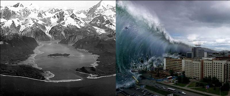 Tsunami, tremblement de terre !Allons en Alaska, le 9 juillet 1958. Dans la baie de Lituya, les équipages de trois bateaux de pêche assistèrent à un tremblement de terre qui provoqua la chute d'une falaise sur une hauteur de 1 000 mètres dans la baie. Sur l'échelle de Ritcher, il a été mesuré à 8,3 !Quelle a été la hauteur de la vague provoquée par ce tremblement de terre ?