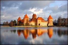 """Le """"château de Trakai"""" ne se visite..."""