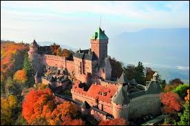 Débutons ce quiz en région Grand-Est, dans le département du Bas-Rhin. Comment s'appelle ce château fort ?