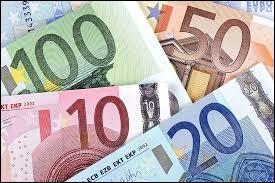 Ma monnaie est l'euro.