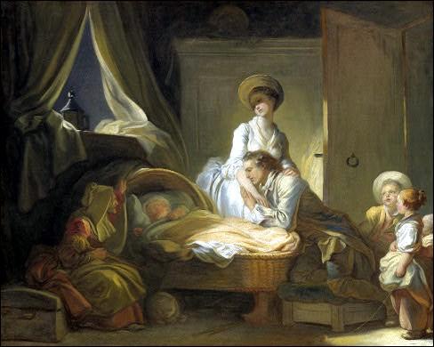 """Qui a peint """"La Visite à la nourrice"""" ?"""