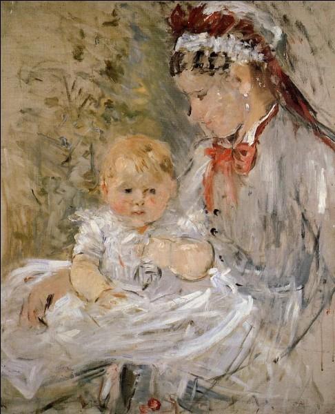 Qui a représenté sa fille et sa nourrice ?