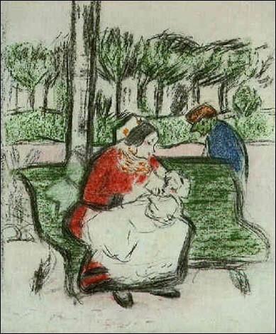 """Qui a peint """"La Nourrice et le troupier"""" ?"""