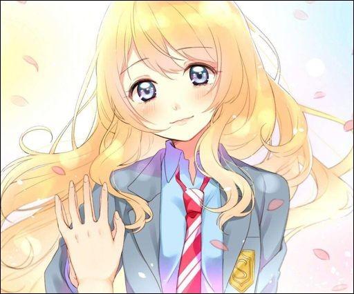 De qui Kaori de ''Your lie in April'' a-t-elle toujours été amoureuse mais sans pouvoir le lui dire ?