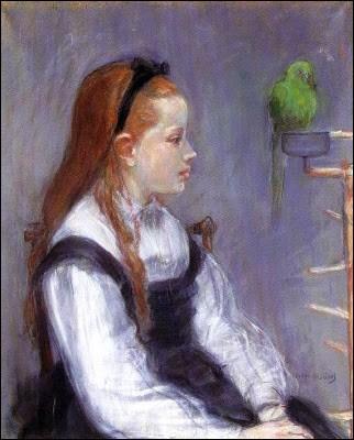 """Qui a peint cette """"Jeune Fille au perroquet"""" ?"""