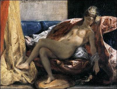 """Qui est le peintre de cette """"Femme au perroquet"""" ?"""