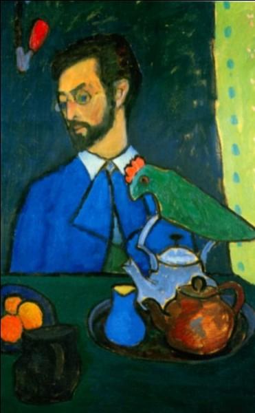 """Qui a peint ce tableau représentant """"Kandinsky au perroquet"""" ?"""