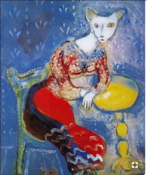 """""""Chatte métamorphosée en femme"""". 1927-1928 - Saurez-vous reconnaître l'artiste peintre de cette toile ?"""