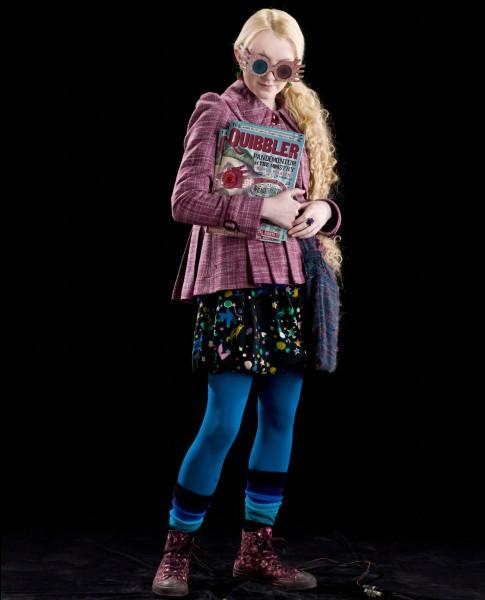 Luna Lovegood fait partie de la maison Serdaigle !