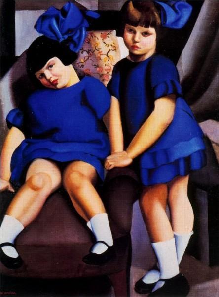 """Qui a peint """"Deux fillettes aux rubans bleus"""" ?"""