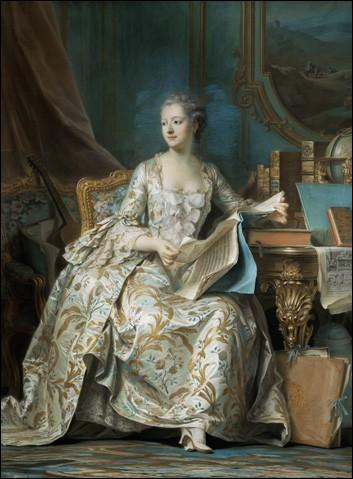 """Qui a réalisé ce tableau représentant """"Madame de Pompadour"""" ?"""