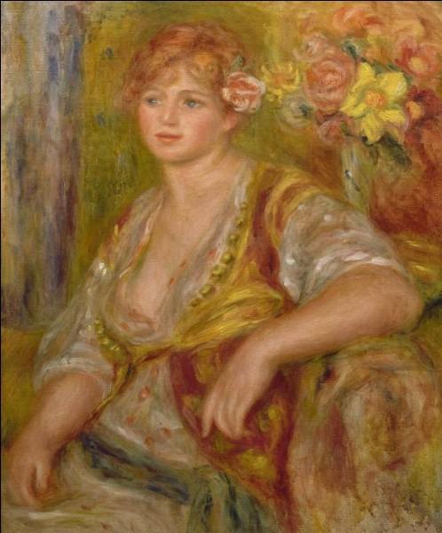 """Qui a peint """"La Blonde à la rose"""" ?"""