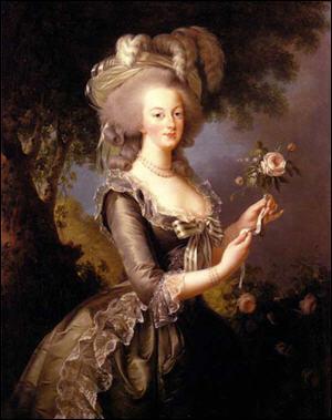 La reine Marie-Antoinette, épouse de Louis XVI, surnommait leur fils, le futur Louis XVII, 'chou d'amour'.