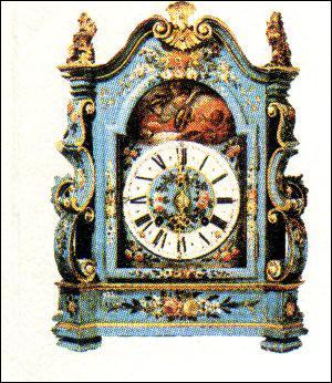 La première horloge fut inventée par un Suisse qui voulait voir le temps passer.