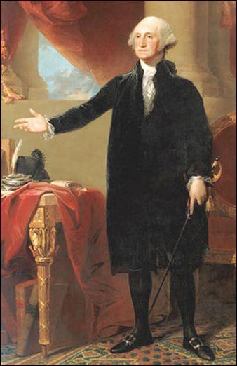 Washington fut le premier président des Etats-Unis d'Amérique.