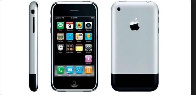 Quel a été le 1er iPhone ?