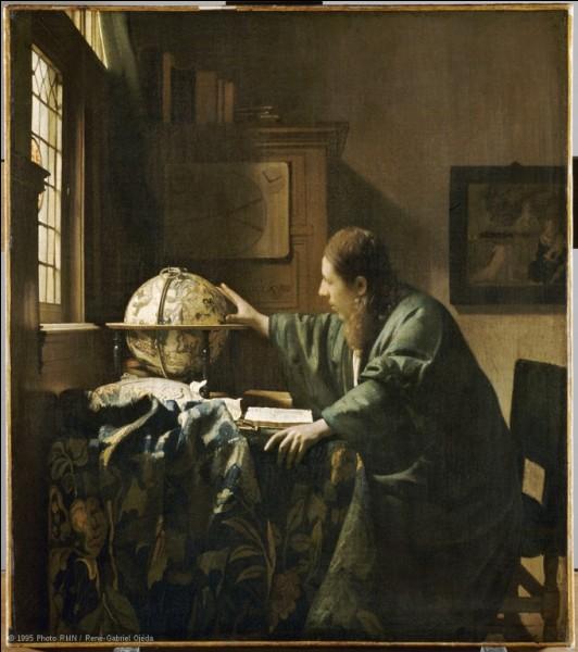 """À qui doit-on cette peinture représentant """"L'Astronome"""" ?"""