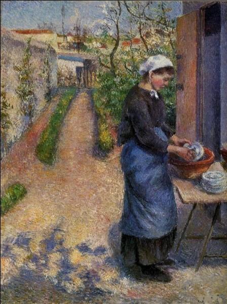 """Qui a peint """"La Laveuse de vaisselle"""" ?"""