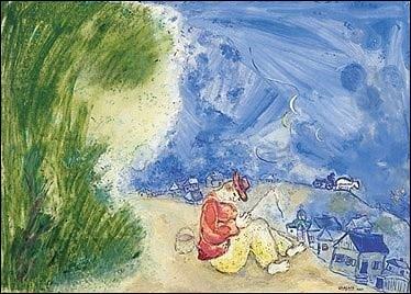 """Son tableau s'intitule """"Le Paysan dormant"""" :"""