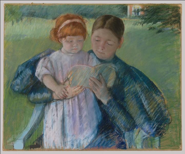 """Qui a fait le portrait de """"La Nurse lisant"""" ?"""