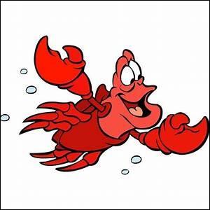 """Dans le dessin animé """"Ariel"""" comment s'appelle le crabe ?"""
