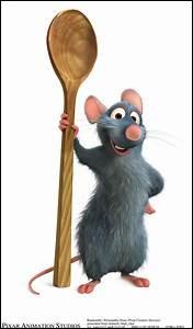 """Dans le dessin animé """"Ratatouille"""" comment s'appelle le rat ?"""