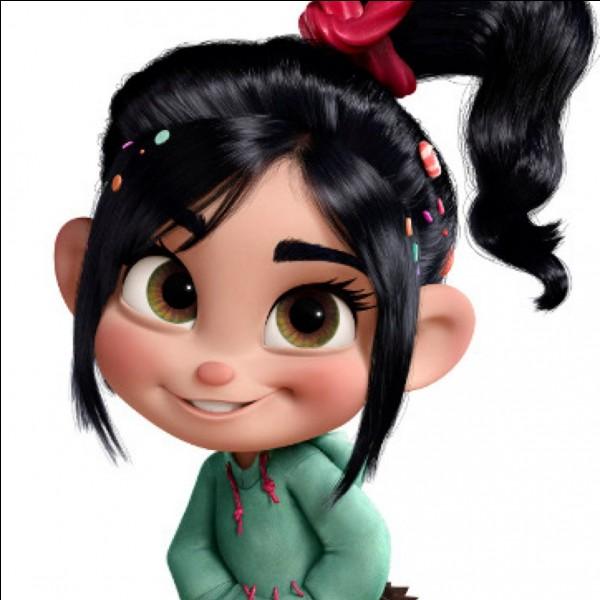"""Dans le dessin animé """"Les mondes de Ralph"""", comment s'appelle la petite fille ?"""