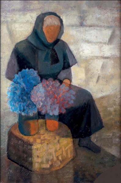 """Qui a peint """"La Fleuriste"""" ?"""