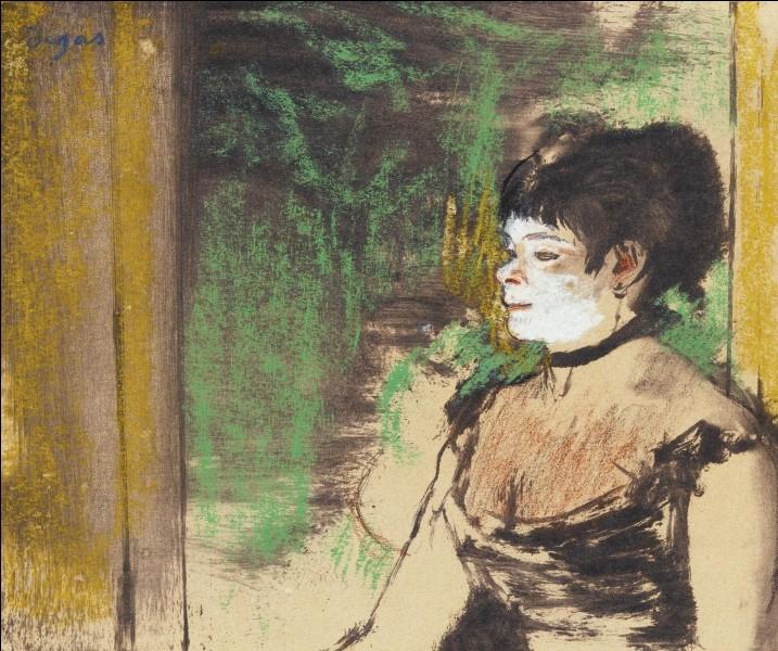 """Qu a peint """"La Chanteuse de café concert"""" ?"""