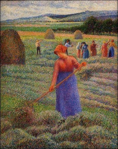 """Qui a peint """"Les moissonneurs à Eragny"""" ?"""